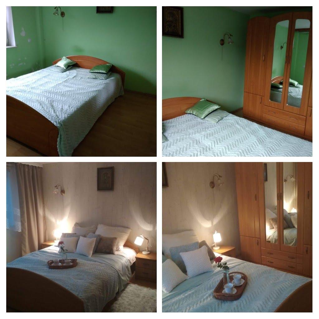 Metamorfoza zielonej sypialni