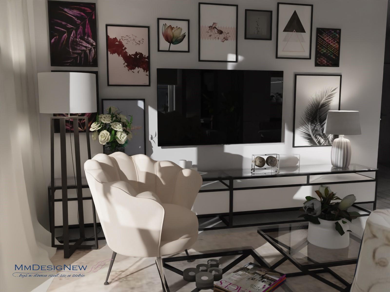 Ecru living room