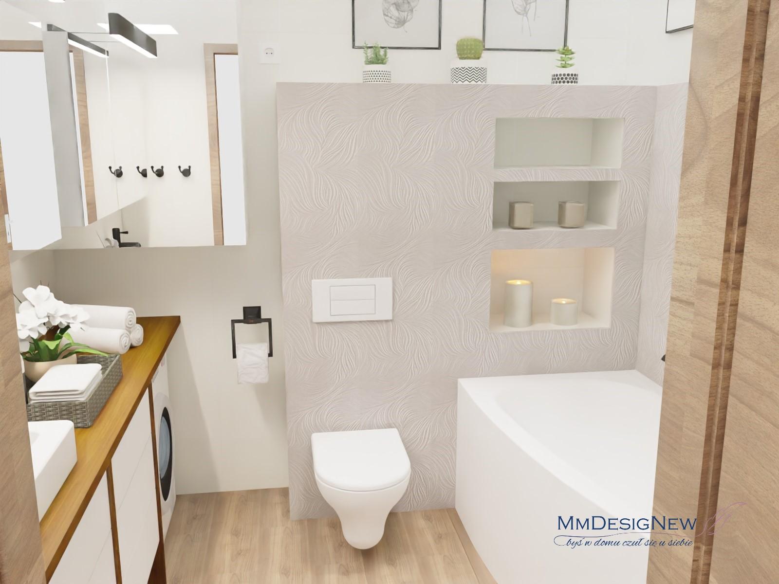 łazienka w srebrze