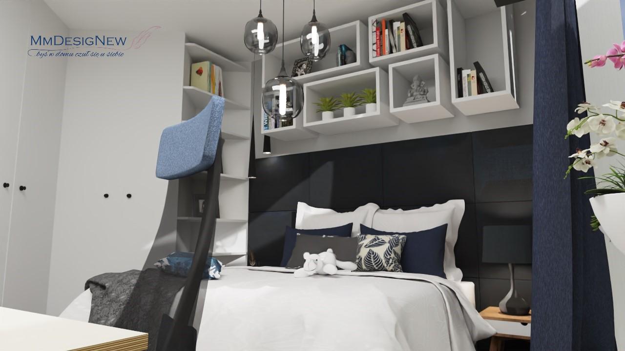 Sypialnia z biurem