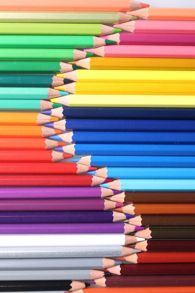 color, color of lead, pencil