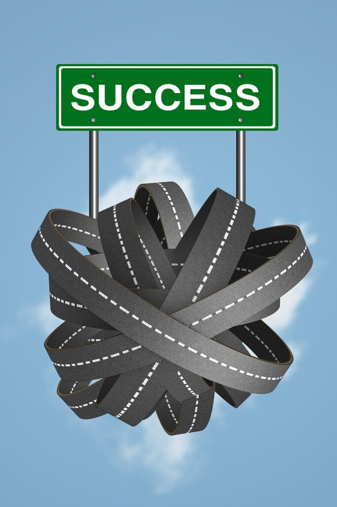 success, road to success, direction