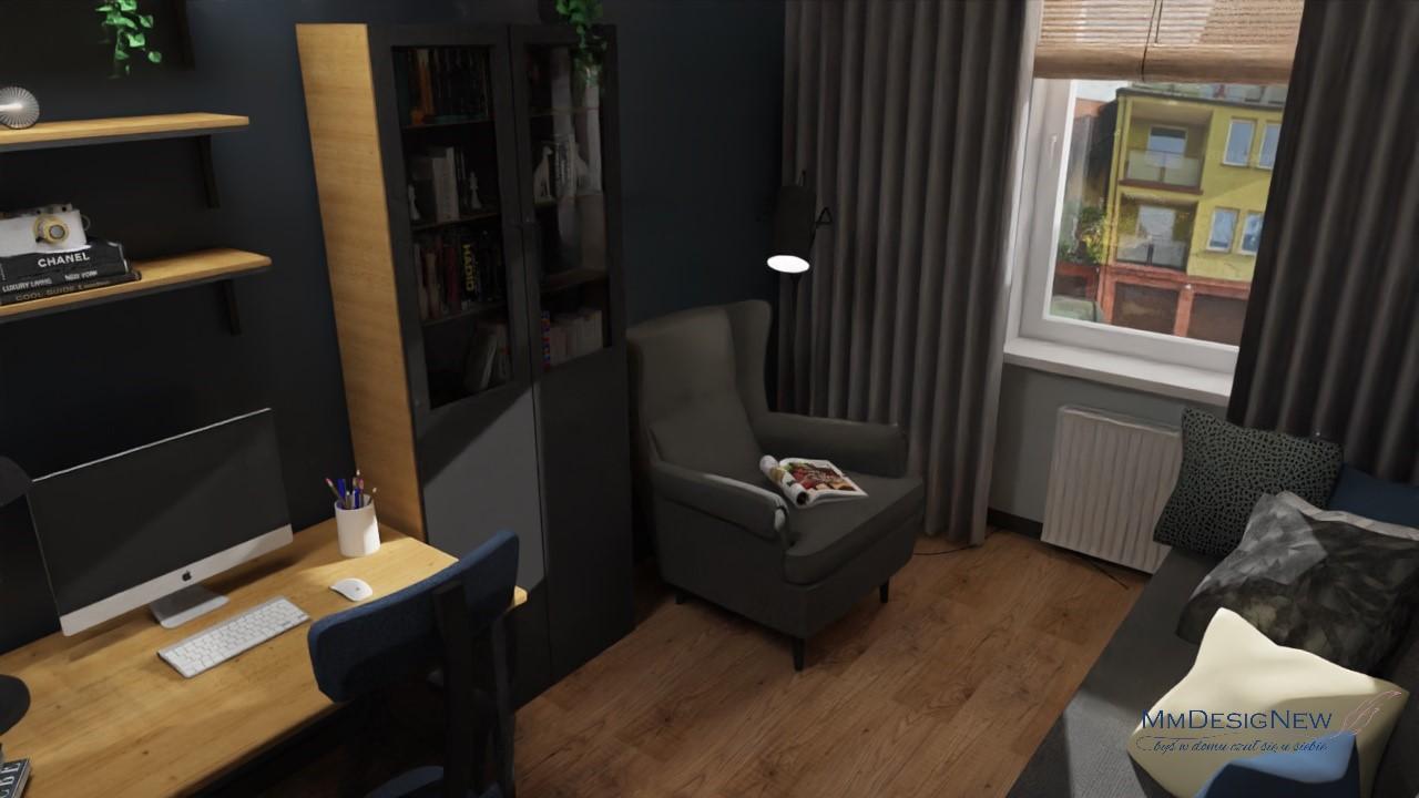 Meble IKEA w gabinecie