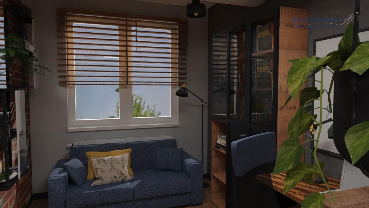 Pokój gościnny z kanapą